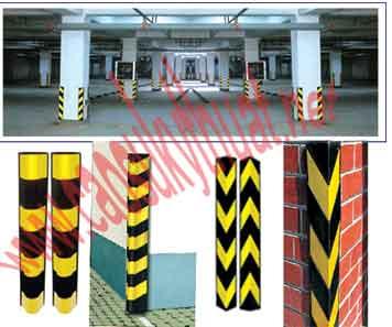 Ốp bảo vệ góc cột góc tường có phản quang